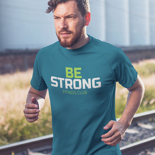 Be Strong Super Dry Active T Shirt by Hyparocks