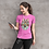 Thumbnail: Colourful Wolf Face Graphic Printed Super Dry Tee