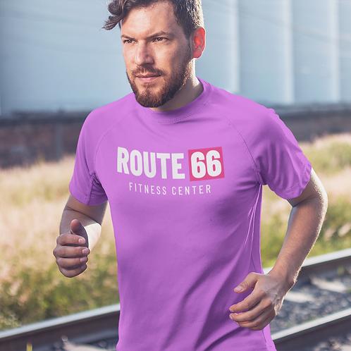 Route 66 Super Dry Active T Shirt by Hyparocks