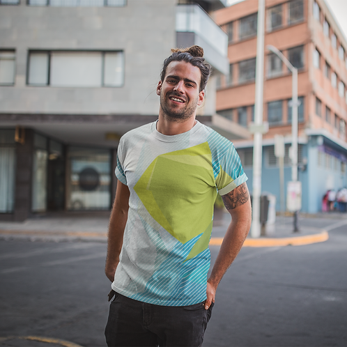 Hyparocks Abstract Printed Super Active Tee