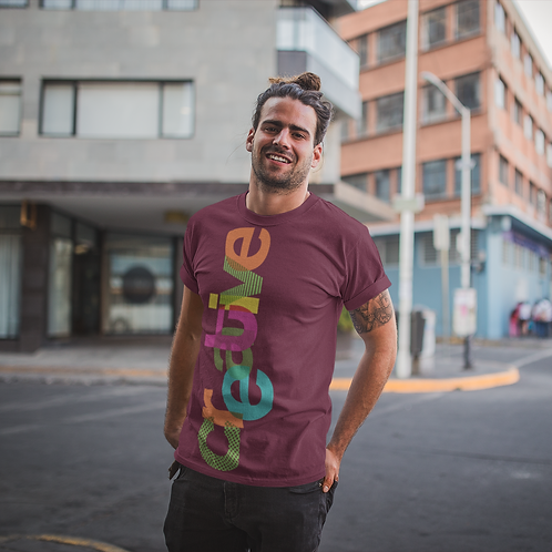 Creative Graphic Printed Active Tee by Hyparocks