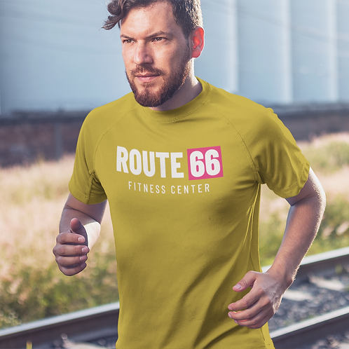 Route 66 Super Dry Active T Shirt by Hyparocks