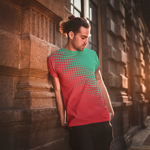 Abstract Printed Super Dry Sports Tee by Hyparocks