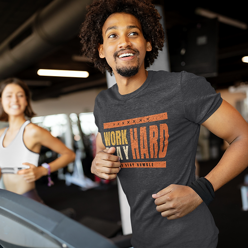 Work Hard Play Hard Dry Fit Active Tee by Hyparocks