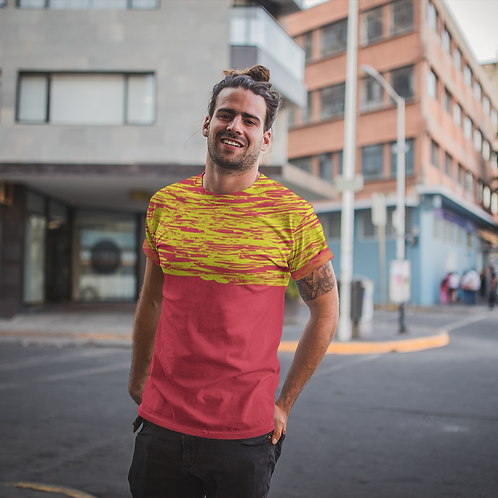Hyparocks Printed Super Dry Running Tee