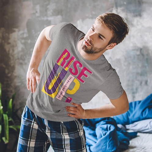 Hyparocks Rise Up Graphic Printed Super Active T Shirt
