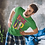 Thumbnail: Hyparocks Rise Up Graphic Printed Super Active T Shirt