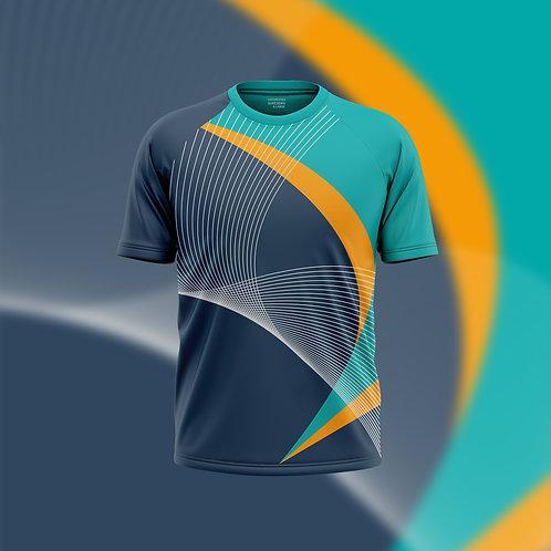 Hyparocks Raglan Cut Super Dry Sports Jersey T-shirt