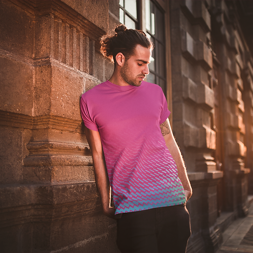 Abstract Graphic Printed Tee by Hyparocks
