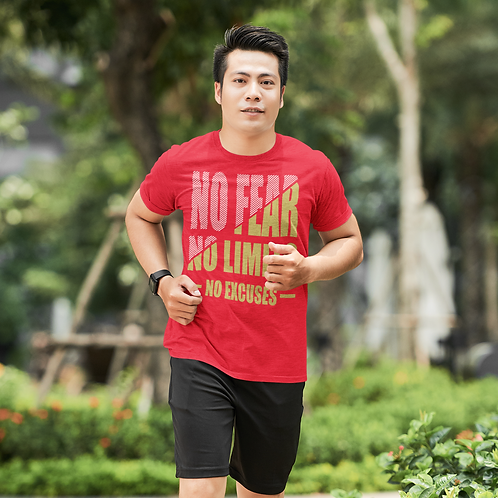 No Fear No Limit Super Dry Active T Shirt by Hyparocks
