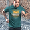 Thumbnail: Crossfit Go Hard Printed Active Workout Tee