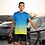 Thumbnail: Multicolour Halftone Printed Super Dry Sports Tee by Hyparocks