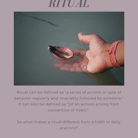 "june's bhavana - ""ritual"""
