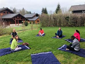 Yoga au Chalet Althéa