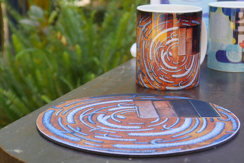 Caneca de Porcelana + mousepad