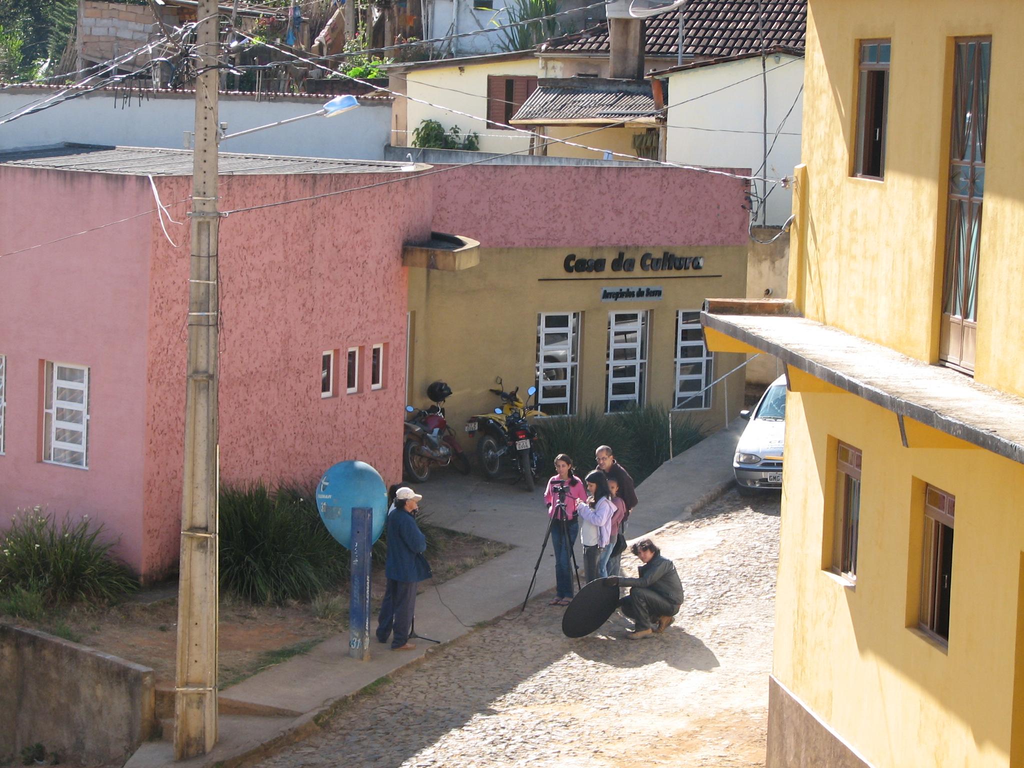 OFICINA DE CINEMA EM ARAPONGA 2011