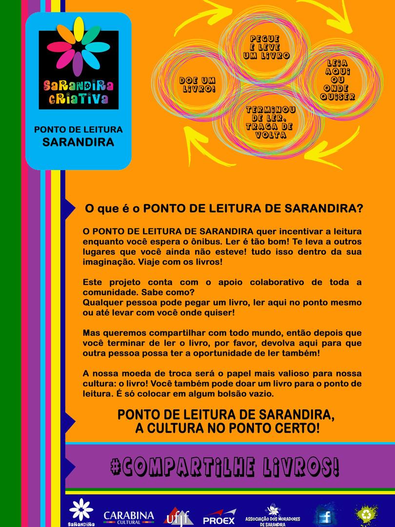 11 K_ CARTAZ PONTO DE LEITURA SARANDIRA