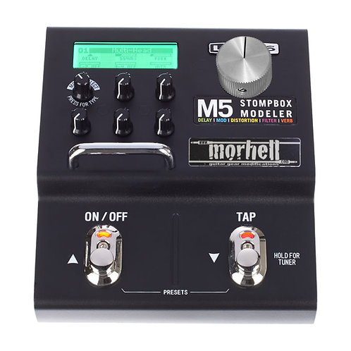 Expression Wheel Mod for Line 6 M5 Stompbox Modeler