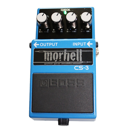 Boss CS-3 Compressor Sustainer Tone Modification