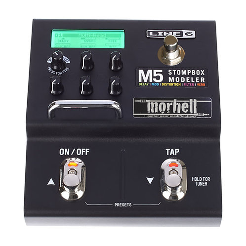 Presets/ Scenes Switch Mod for Line 6 M5/ M9 Stompbox Modeler