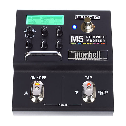 "Expression Switch Mod for Line 6 M5 Stompbox Modeler (""Double-Preset""-Mod)"