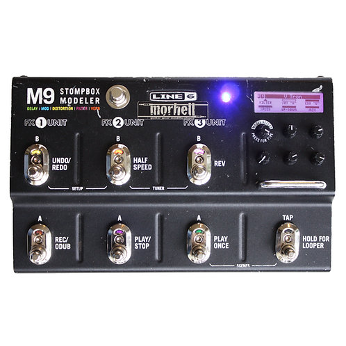 Rugged Footswitches for Line 6 M9 Stompbox Modeler