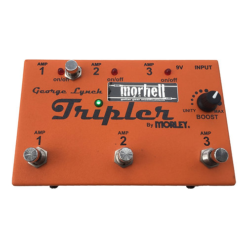 Switchable Boost-Mod for Morley Tripler