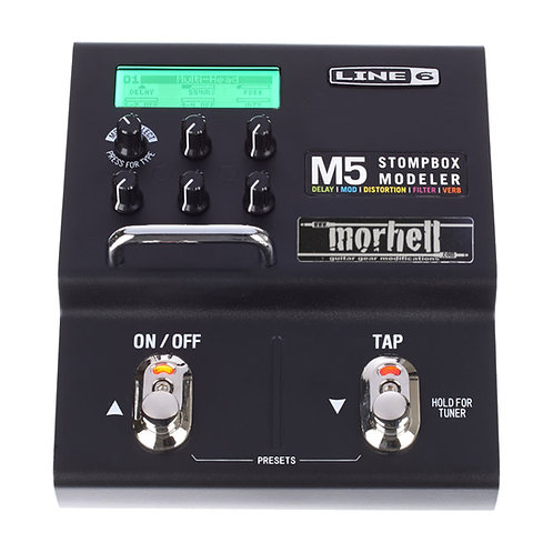 Rugged Footswitches for Line 6 M5 Stompbox Modeler