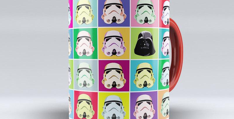 Caneca Stormtrooper Pop Art