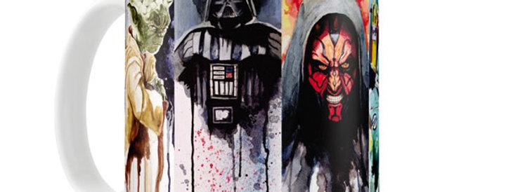 Caneca Star Wars Ícones