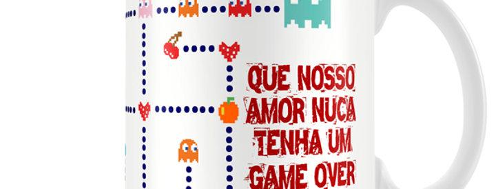 Caneca Pac Man Love