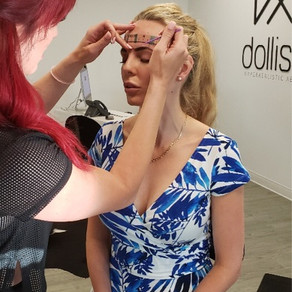 My Microblading Experience with Emily Joy at Dollistic