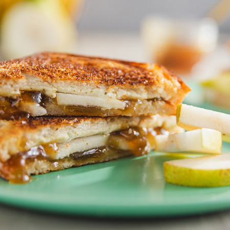 Figgy Grilled Cheese Sandwiches