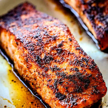 Healthy Recipe: Oven Baked Salmon with Sautéed Veggies