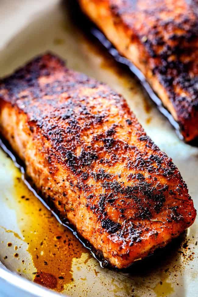 blackened salmon healthy recipes