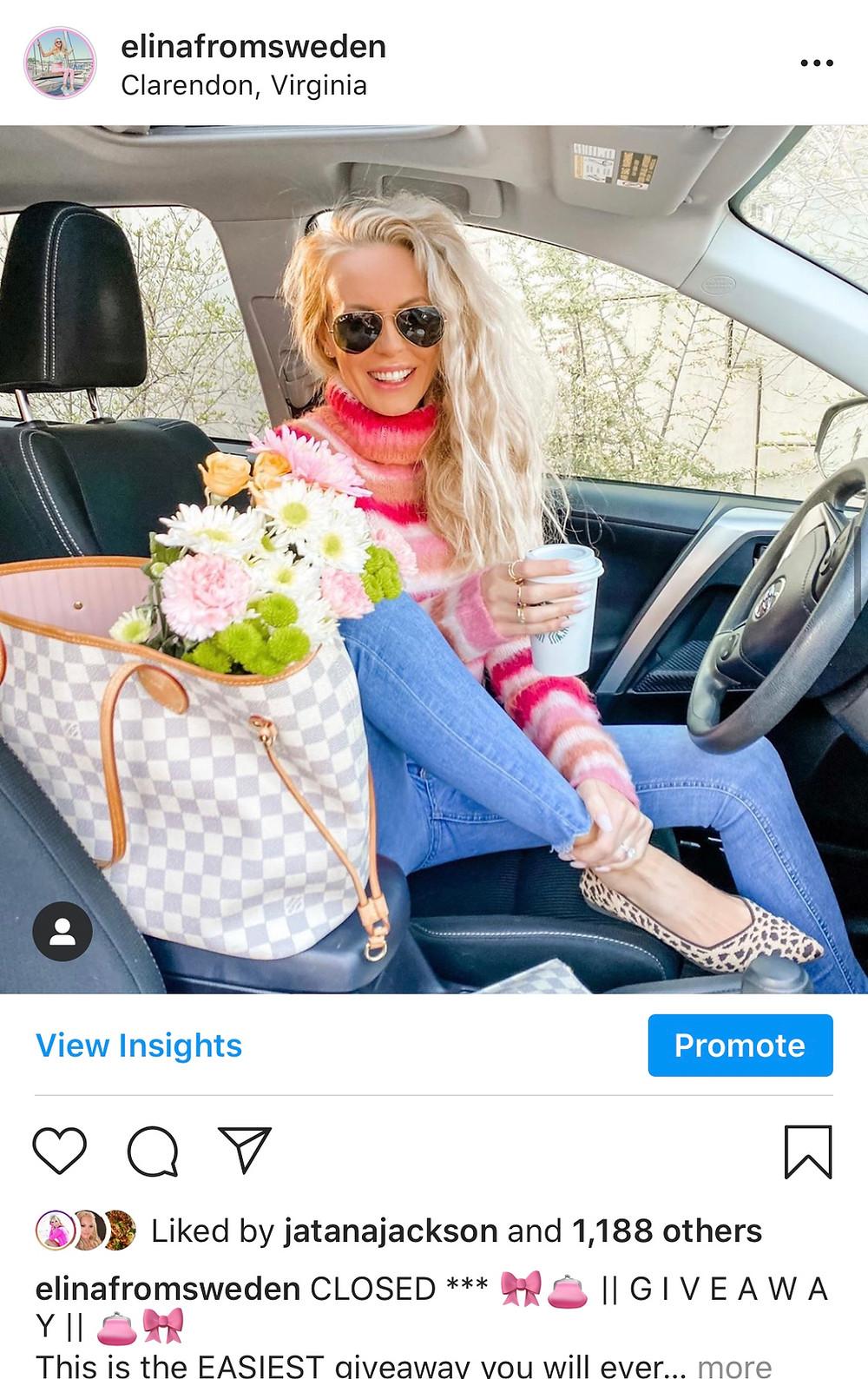 instagram influencer blogger Arlington va