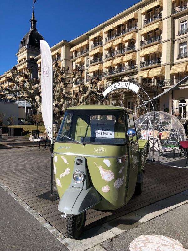 green european mini truck