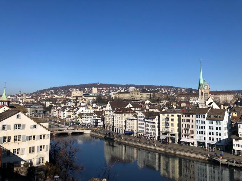 zurich old town view