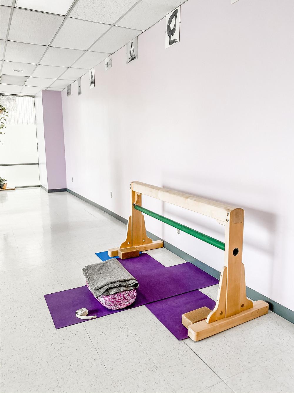 Iyengar Yoga props
