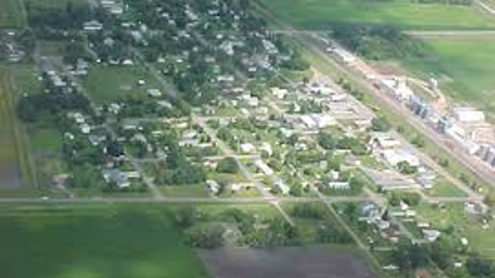 Arial view of Buxton ND