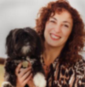 Edina Adler and Dog