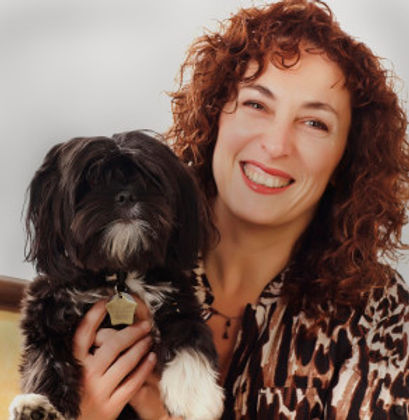 Edina Adler and Dog