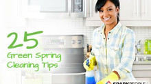 "25 Great ""Green"" Spring Cleaning Tips"