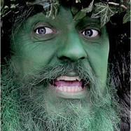 """15th= """"THE GREEN MAN"""" 18pts (Highly Commended)"""