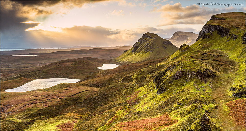 10 SUNRISE OVER THE QUIRAING by John Rut