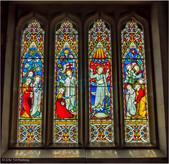 Ilam Church Window