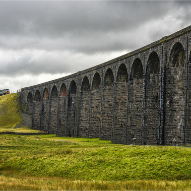 6th= RIBBLEHEAD WITH TRAIN 18pts (Highly Commended)