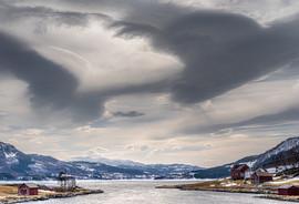 THREATENING SKIES IN NORWAY