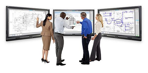 Quadro interativo empresa