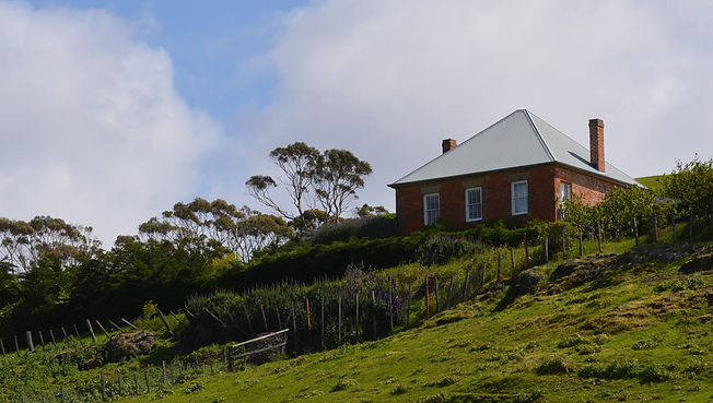 Convict house at Saltwater River